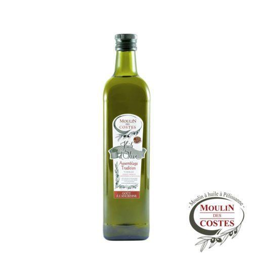 Huile d'Olive Tradition - Goût à l'Ancienne - Bidon ou Bouteille