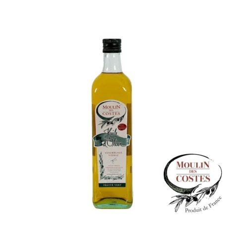 Huile d'Olive Fruité Vert - Goût intense - Bidon ou Bouteille