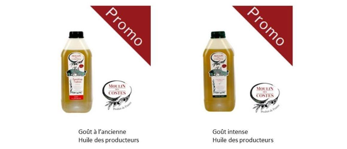 Promo-huile des apporteurs