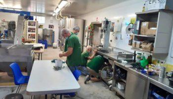 preparation saison moulin